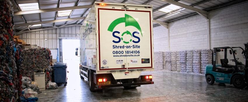 Shredding Truck