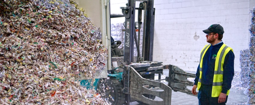 Paper shredding pricess